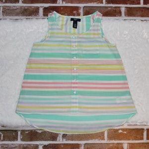 Gap Kids Short Sleeve Pastel Top Large